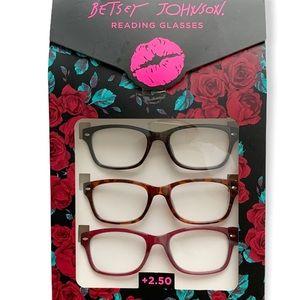 Betsey Johnson Reading Glasses!